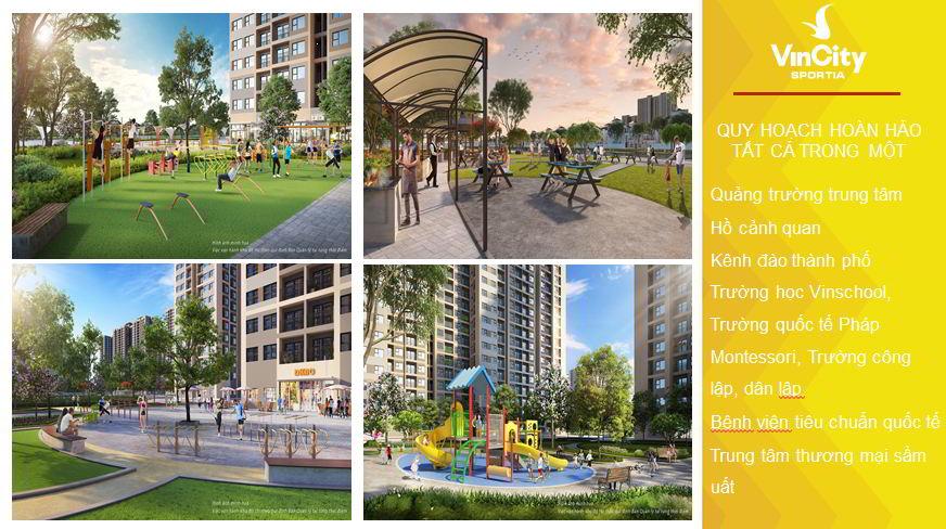 Tiện ích dự án Vinhomes Smart City