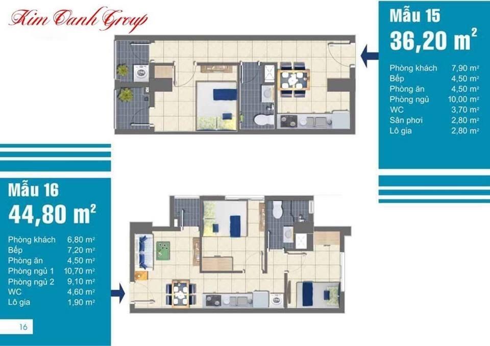 Mặt bằng thiết kế căn hộ EastGate