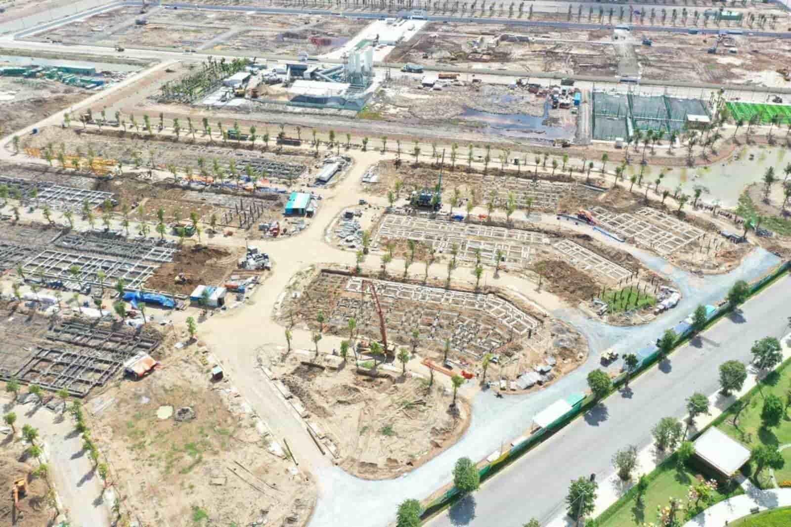 tiến độ xây dựng khu the manhattan vinhomes grand park