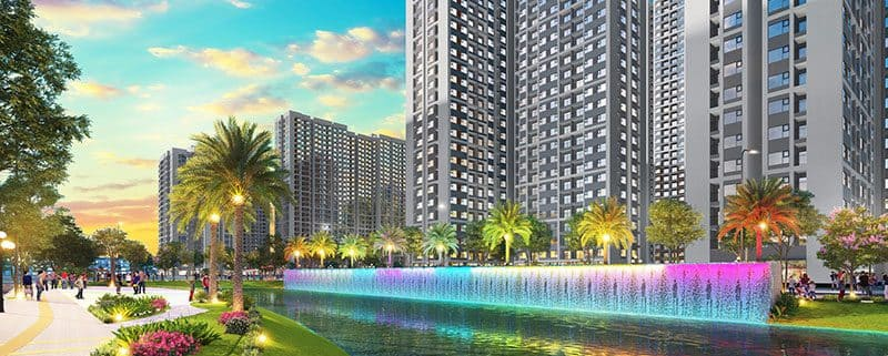tiện ích the rainbow vinhomes grand park