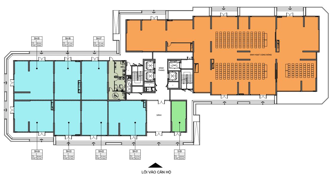 layout shophouse vinhomes grand park toà z