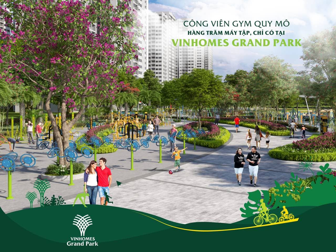 banner vinhomes grand park