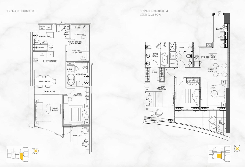 thiết kế căn hộ alpha hill cống quỳnh
