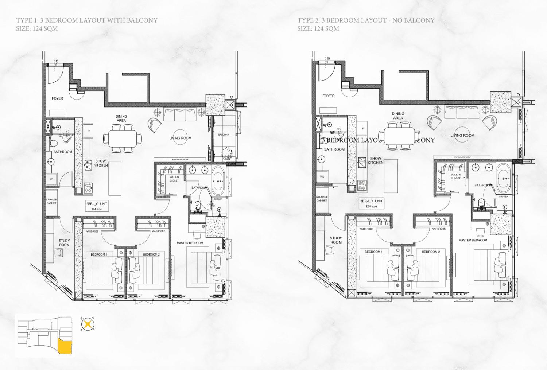thiết kế căn hộ alpha hill cống quỳnh quận 1