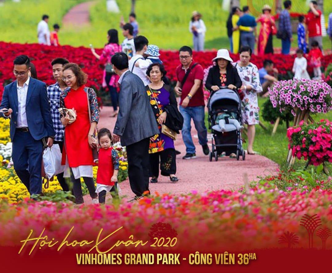 hội xuân vinhomes grand park quận 9