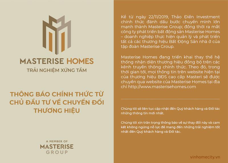 chủ đầu tư masterise group