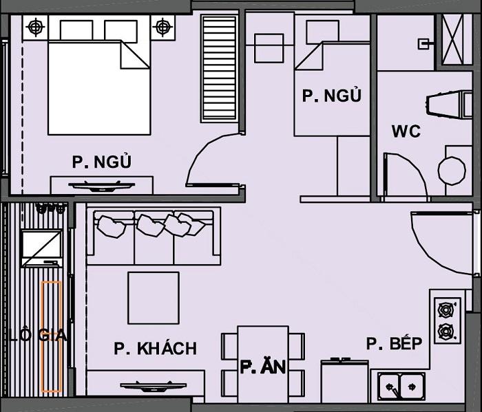 căn hộ 1 phòng ngủ vinhomes grand park quận 9